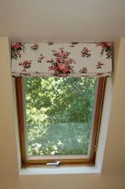 roman blind at velux window ventanas pinterest roman blinds