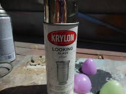 Krylon Mirror Glass Spray Paint - plastic eggs upcycled u2013 kelleysdiy
