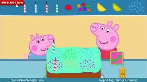 jeux de cuisine de gateau peppa pig en français jeu de cuisine faisons un gâteau de glace