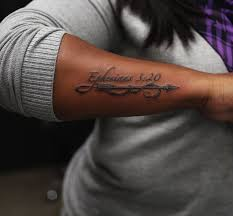 most popular bible verse for tattoo creativefan