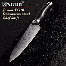 vg10 kitchen knives aliexpress buy xituo sharp 8 inch damascus kitchen knife 73