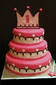 1st birthday cake for baby id skip the crown and wand the