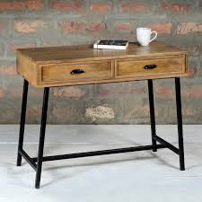 Industrial Console Table Suri Industrial Modern Narrow Console Table With Drawers In Mango