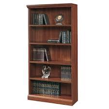 sauder 5 shelf bookcase sauder 5 shelf bookcase cherry