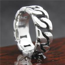 bracelet with ring designs images Mens boys 316l stainless steel cool silver bracelet style newest jpg