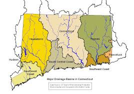 Connecticut Rivers images Ct watersheds gif