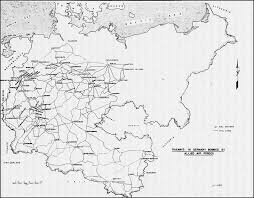 Kassel Germany Map by Hyperwar Army Air Forces In Wwii Vol Iii
