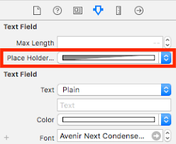 ios changing placeholder text color with swift stack overflow