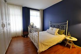 appealing relaxing colors for bedrooms with blue paint walls and