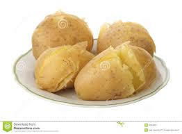 pommes de terre en robe de chambre au four pomme de terre en robe de chambre image stock image du simple
