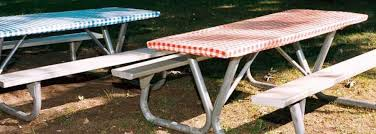 fitted picnic table covers elastic picnic table covers vcf photography com