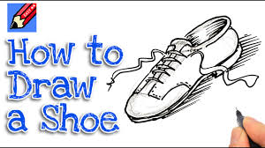 learn how to draw a shoe real easy for kids and beginners youtube