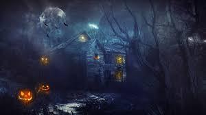 haunted house wallpaper wallpapersafari