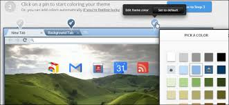 themes you how to easily create your own google chrome theme