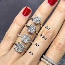 cushion solitaire engagement rings elongated cushion solitaire engagement ring ring concierge