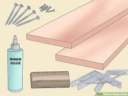 3 ways to build a desk wikihow