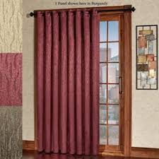 Patio Door Curtains Patio Door Curtain Panels Touch Of Class