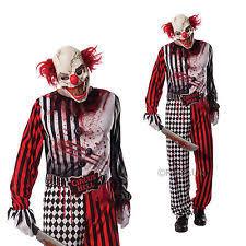 Scary Clown Halloween Costumes Men Clowns U0026 Circus Costumes Men Ebay