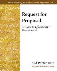rfp cover letter samples