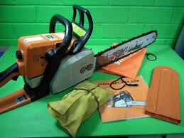 40824 stihl 025 chainsaw good working order as pictured with