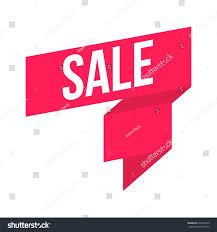 sale ribbon stock vector 636695473