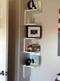 Wall Corner Shelves by Best 25 Wall Mounted Corner Shelves Ideas On Pinterest Corner