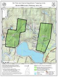 Wmu Map Trapping On State Managed Lands Hunting New Hampshire Fish And