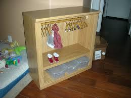 18 inch doll storage cabinet doll closet walmart simplicity clothes inch dolls diy