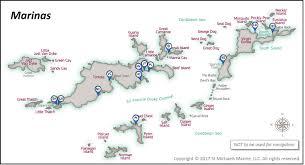 Bvi Map Marinas U2013 Bvi Mariner