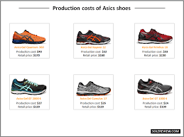 amazon black friday deals on asics shoes what does it cost to make a running shoe u2013 solereview