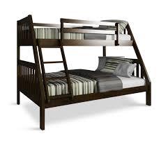 Pinehurst II Twin Over Full Bunk Bed Espresso Finish HOM - Espresso bunk bed