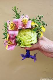 flower corsage how to make a fragrant corsage using flowers herbs