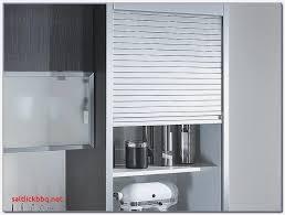 meuble cuisine coulissant meuble cuisine rideau coulissant pour idees de deco de cuisine