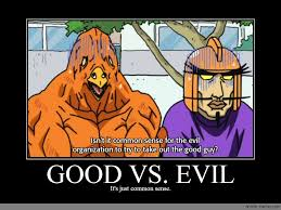 Evil Meme - good vs evil anime meme com