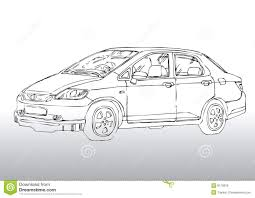 car drawing car drawing royalty free stock photos image 8170818