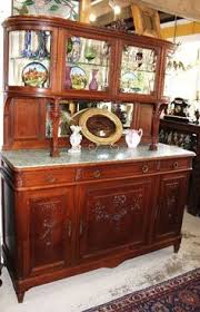 antique furniture french antique carved buffet hutch marble top