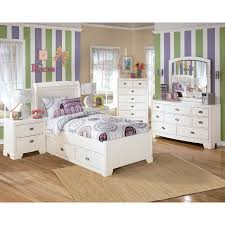 the furniture white kids bedroom set with loft bed in awesome ashley furniture girl beds decorate monaghanlt com