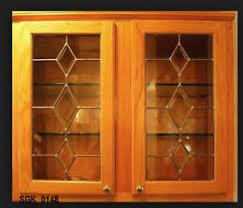 beveled glass kitchen cabinets bevel kitchen cabinet door inserts ebay