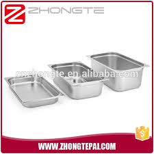 Stainless Steel Buffet Trays by Zhongte Stainless Steel Gastronom Gn Pan Buffet Trays For Food