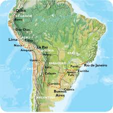 Rio On Map Quito To Rio Via Buenos Aires 69 Days Southern Trans Oceanic