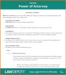 7 power of attorney letter sample authorization adjustment letter