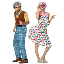 buy grandma u0026 grandpa couples costume