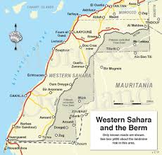 Map Of Spain And Morocco by Western Sahara U0027 Sahara Overland