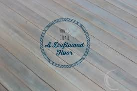 how to create a driftwood floor finding silver pennies