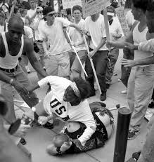 Black Confederate Flag Heroic Woman In Iconic Photo From A Klan Rally Shares Disturbing