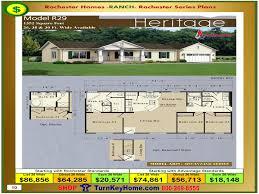 heritage rochester modular home model ar29 advantage series ranch