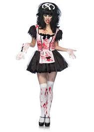 Dead Cheerleader Halloween Costume French Maid Ideas Maid Halloween Costumes Halloween