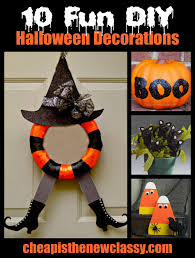 Halloween Decorations Cheap 10 Fun And Spooky Diy Halloween
