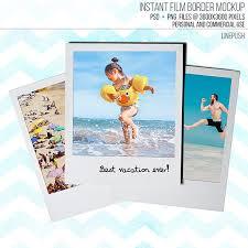 sale polaroid frame template classic instant film frame mock up