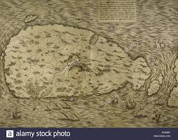 Map Of Mediterranean Sea Map Of Malta Island Mediterranean Sea Italian Engraving 16th